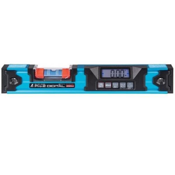 シンワ ブルーレベル Pro2 デジタル 防塵防水 350mm マグネット付  75316
