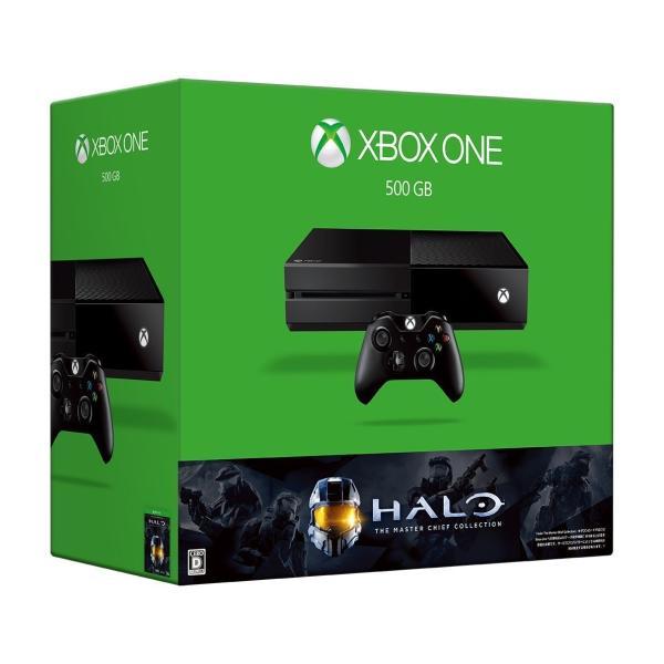 Xbox One(エックスボックスワン) 500GB(Halo:The Master Chief Collection 同梱版)の画像