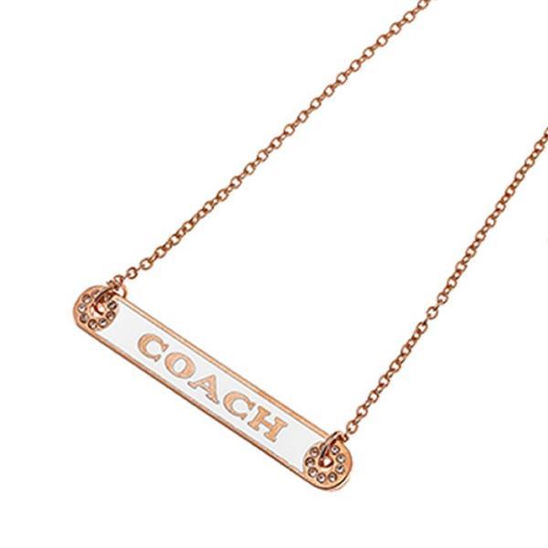 コーチ ネックレス ペンダント COACH Plaque Necklace F76470/RSCHK アウトレットコーチ コーチジュエリー