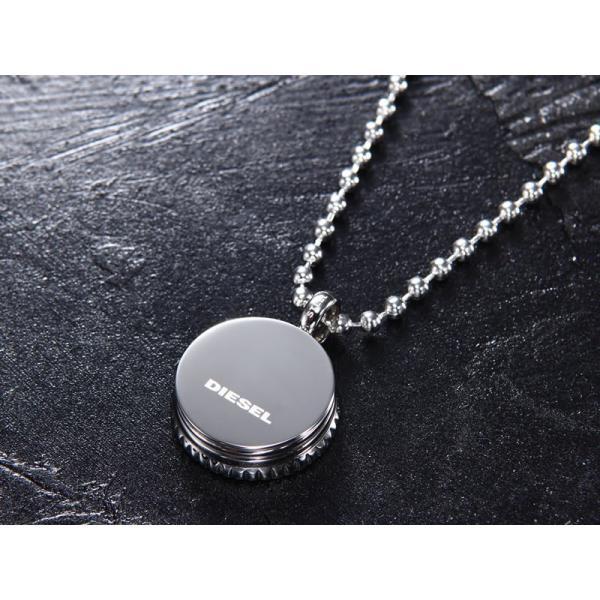 ディーゼル ネックレス ペンダント DX0888040 ブレイブマン DIESEL ステンレスネックレス|trend-watch|02