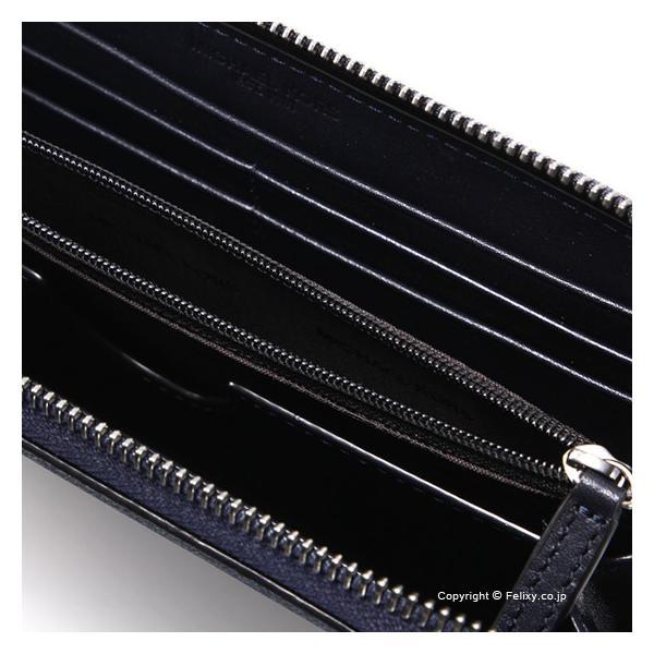 c60021d8fe5f メンズ財布 小銭入れ付き長財布 MICHAEL KORS マイケルコース ラウンドファスナー 39F7MMNE3B/001 BLACK