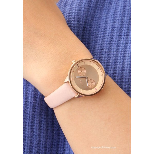 フルラ 時計 FURLA 腕時計 レディース Metropolis31 (メトロポリス31) ローズゴールド/ローズレザーストラップ R4251102511|trend-watch|04