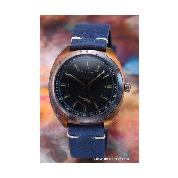 アウトオブオーダー OUT OF ORDER 腕時計 Torpedine (トルペディネ) ブラック(ブルー) 1-6BL|trend-watch