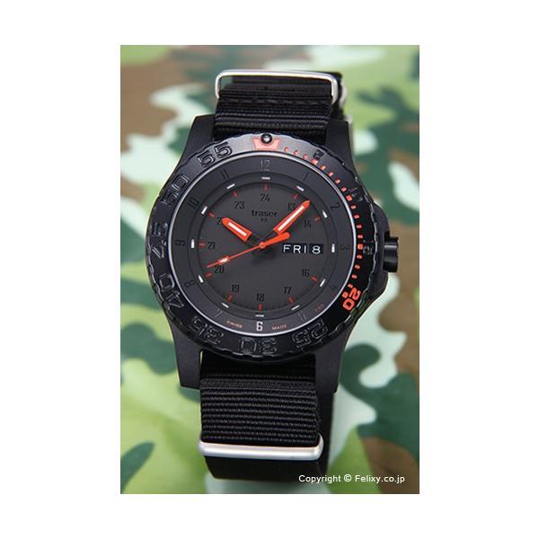 7332da63e6 トレーサー TRASER 腕時計 メンズ Type6 Mil-G Red Combat (タイプ6 ミル-G ...