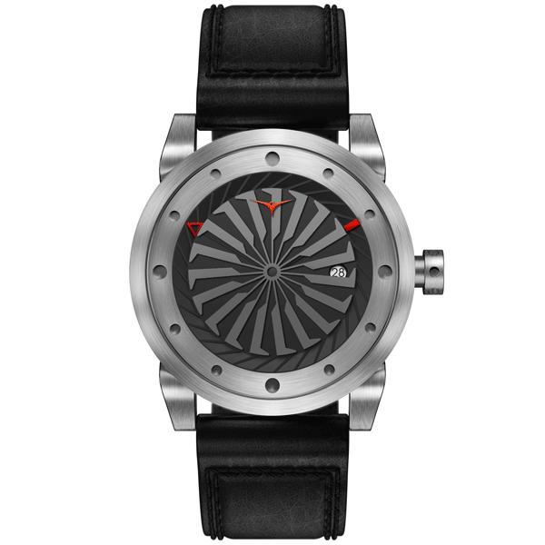 ジンボ ZINVO 腕時計 メンズ Blade Silver (ブレード シルバー)|trend-watch|03