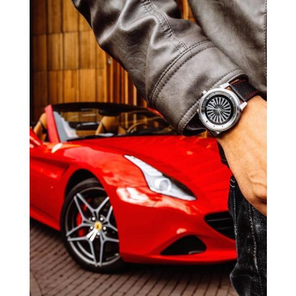 ジンボ ZINVO 腕時計 メンズ Blade Silver (ブレード シルバー)|trend-watch|04