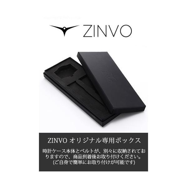 ジンボ ZINVO 腕時計 メンズ Blade Silver (ブレード シルバー)|trend-watch|06
