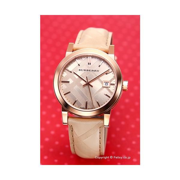 バーバリー 腕時計 メンズ レディース BURBERRY BU9154 シティ ローズゴールド|trend-watch