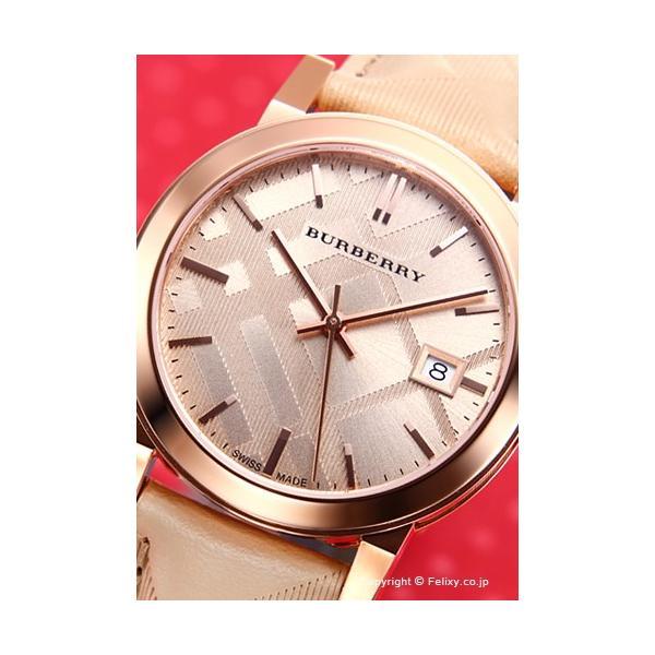 バーバリー 腕時計 メンズ レディース BURBERRY BU9154 シティ ローズゴールド|trend-watch|02