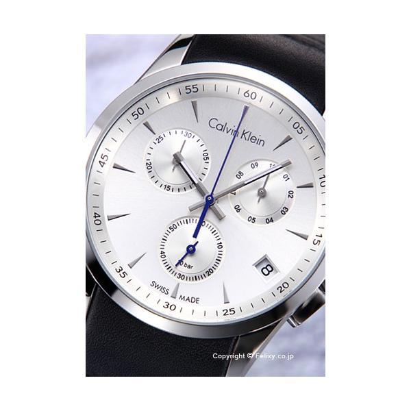 カルバンクライン Calvin Klein 腕時計 メンズ K5A271C6 Ck Bold Chronograph (シーケー ボールド クロノグラフ) シルバー|trend-watch|02