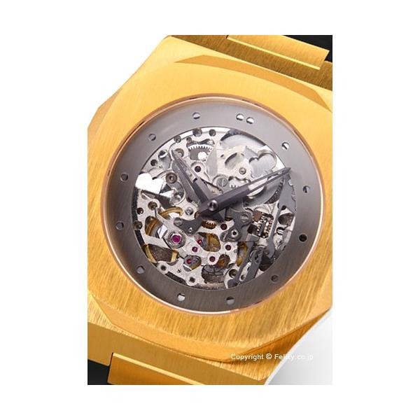 D1 ミラノ D1 MILANO 腕時計 Skelton Collection (スケルトン コレクション) ゴールド A-SK05|trend-watch|02