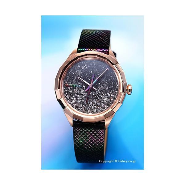 ディーゼル 腕時計 レディース DIESEL Kween B ブラックレインボー DZ5536|trend-watch