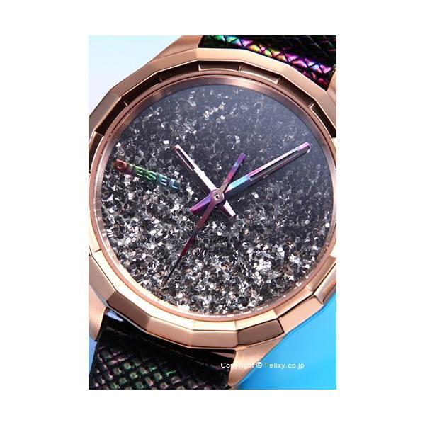 ディーゼル 腕時計 レディース DIESEL Kween B ブラックレインボー DZ5536|trend-watch|02
