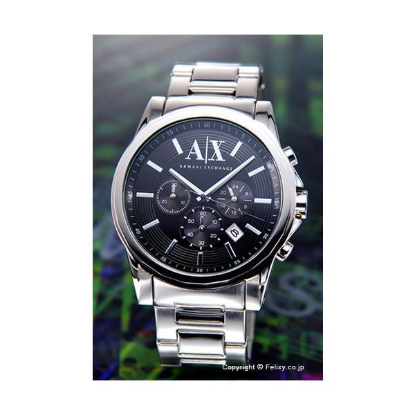 アルマーニエクスチェンジ 時計 メンズ Armani Exchange アウターバンクス クロノグラフ ブラック AX2084|trend-watch