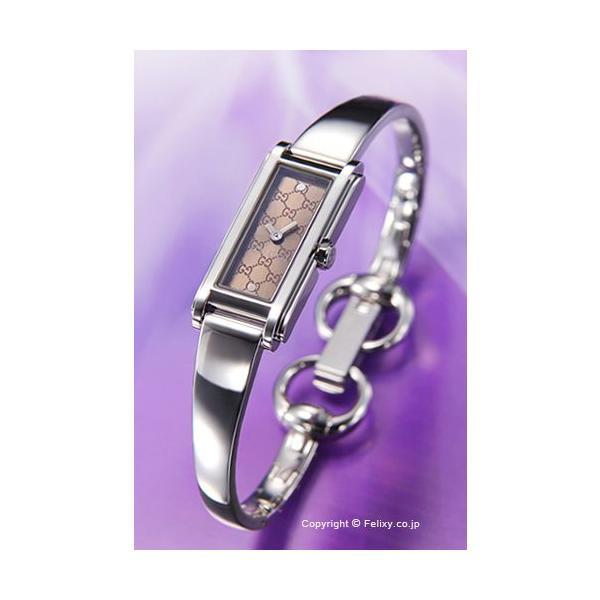 d0f8a304446e グッチ GUCCI 腕時計 レディース YA109529 G-Line バングルブラウン trend-watch ...