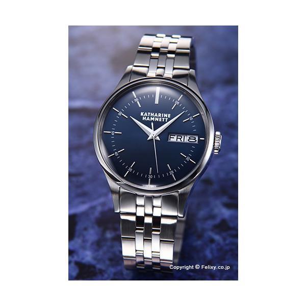 キャサリンハムネット 腕時計 メンズ KH20G5-B64 ENGLISH SLICK ネイビー|trend-watch