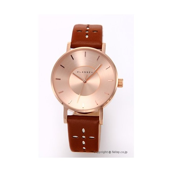 クラス14 KLASSE14 腕時計 レディース Miss Volare Rose Gold Cappuccino VO17IR032W|trend-watch