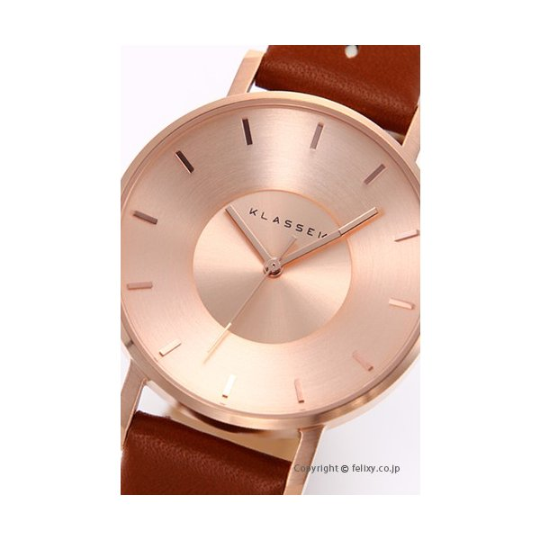 クラス14 KLASSE14 腕時計 レディース Miss Volare Rose Gold Cappuccino VO17IR032W|trend-watch|02
