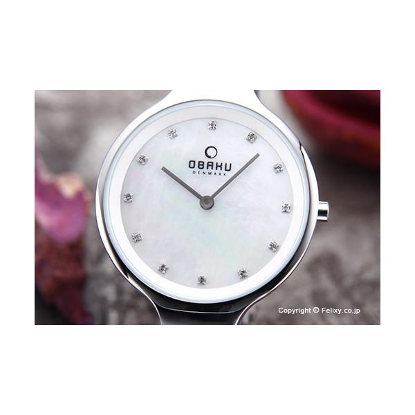 オバク 腕時計 レディース OBAKU Denmark V173LXCIMC