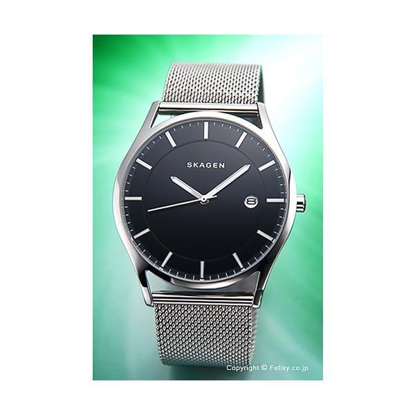 スカーゲン 腕時計 メンズ SKAGEN ホルスト ブラック SKW6284|trend-watch