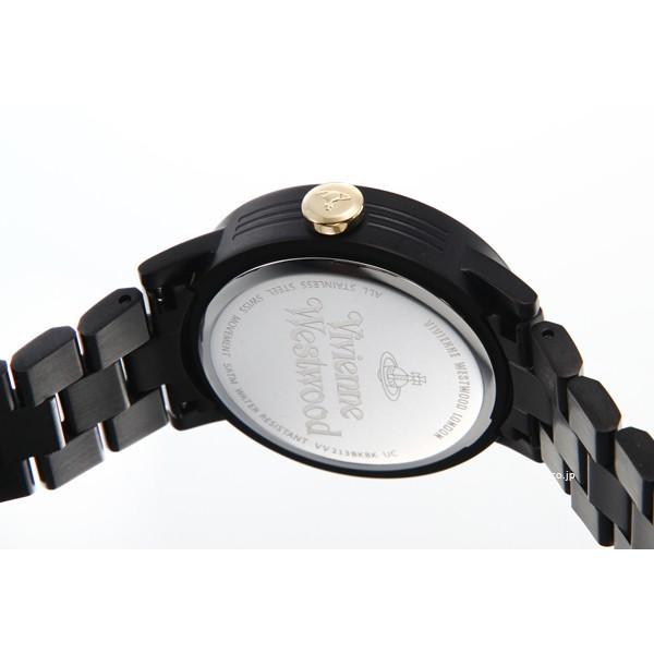 ヴィヴィアン ウエストウッド 時計 Vivienne Westwood レディース 腕時計 Warwick VV213BKBK|trend-watch|04
