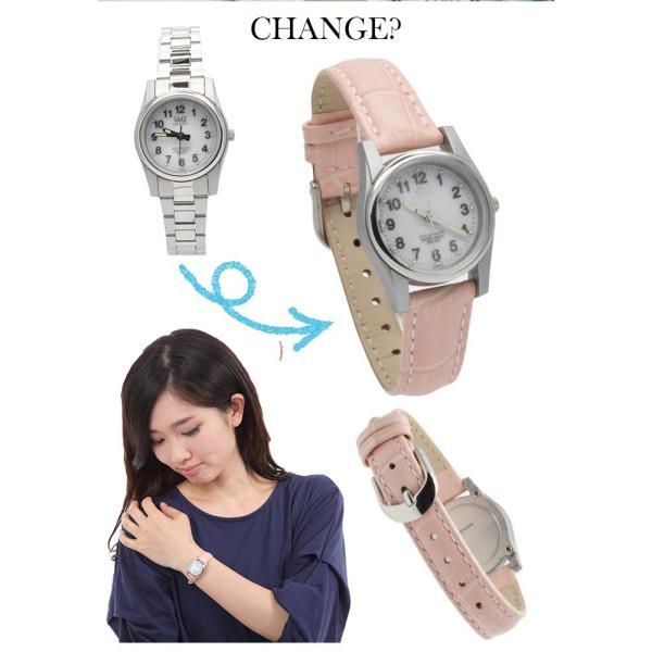 腕時計 ベルト 時計 替えベルト バンド 革ベルト empt Ladys レディース ピンク ブルー ホワイト 桃 青 白 12mm 14mm 16mm 革ベルト 替えバンド バネ棒外し|trendst|05