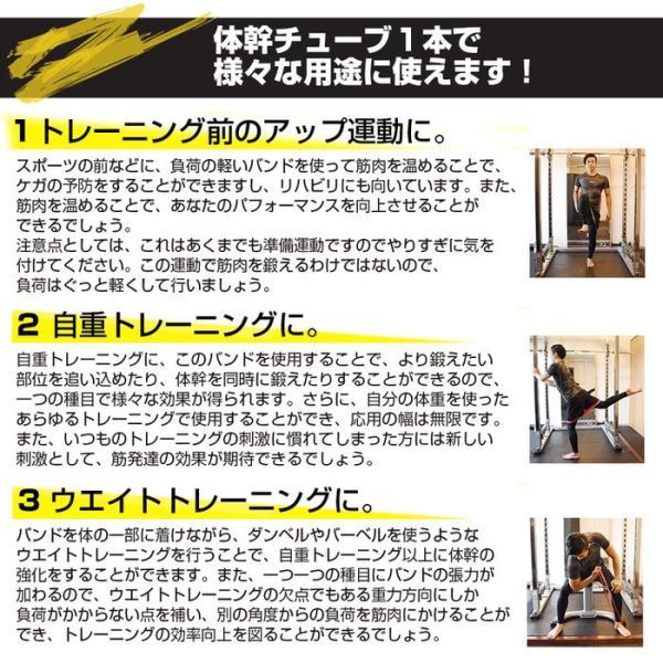 レッド(ライト厚み0.5mm) 体幹チューブ エクササイズバンド ループチューブ ループバンド エクササイズ 筋肉 体幹トレーニング ストレッチ|trendst|08