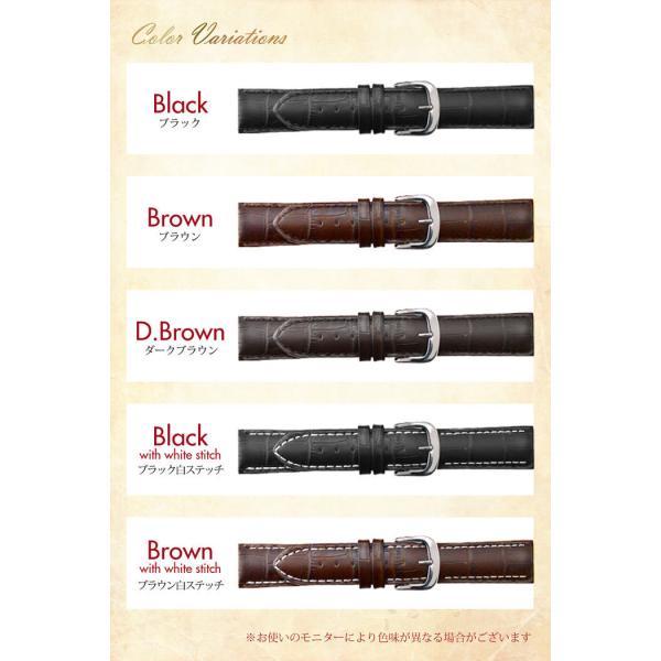腕時計 ベルト 時計 替えベルト バンド 革ベルト empt スタンダード 尾錠 ブラック ブラウン 黒 茶 18mm 19mm 20mm 21mm 22mm|trendst|08