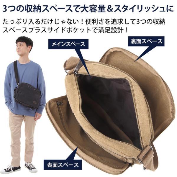 多機能 紳士 ショルダーバッグ 多機能 多機能バッグ たくさん入る 多機能 男女兼用 ショルダーバッグ 鞄 キャンパス地 ポケットが多い メンズ レディース 海外旅|trendsttwo|05