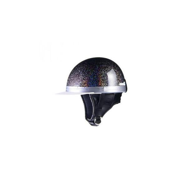 リード工業 HARVE コルクハーフヘルメット ダークパープルギャラクシー フリーサイズ HS-501 代引き不可|trepakgogo