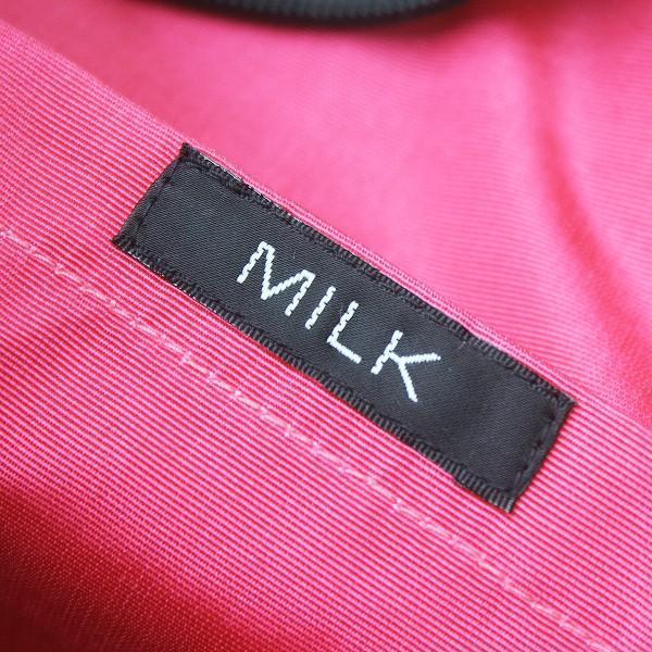 MILK ミルク ハート ポケット ボストン バッグ/カバン ブラック 2400011157669