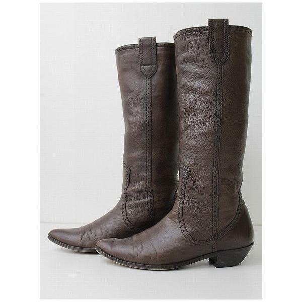 MARGARET HOWELL マーガレットハウエル ロング ブーツ 23cm 2400020018654