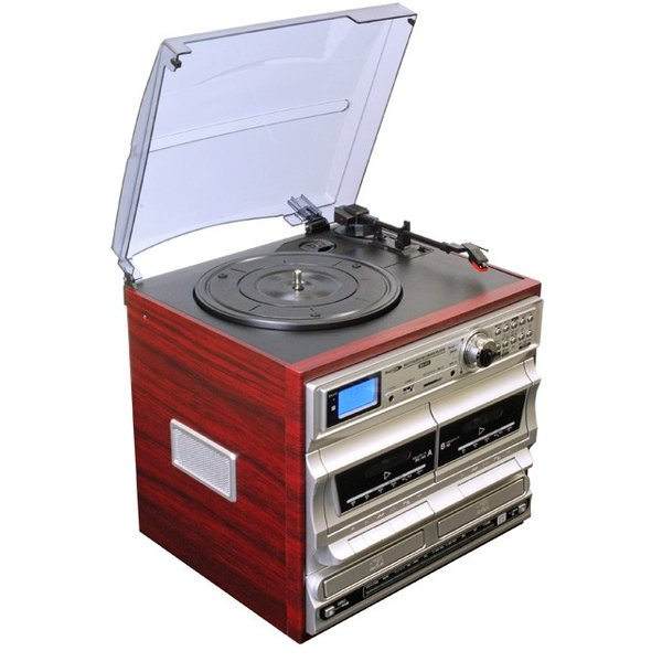 Bearmax マルチ・オーディオ・レコーダー/プレーヤー MA-811(レコード カセットテープ CD デジタル アナログ SD USB 新生活応援セット 家電)|tricycle|02