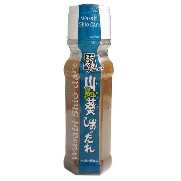 田丸屋本店 山葵しおだれ 155g×12本セット(わさび 塩 調味料 ドレッシング ソース)