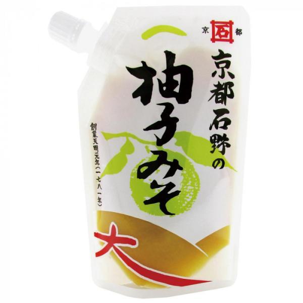 京都石野の柚子みそ 120g×10個セット(柚子 味噌 みそ 和食 調味料 使い方 レシピ 献立 ふろふき大根 みそ田楽 ドレッシング 焼き魚)