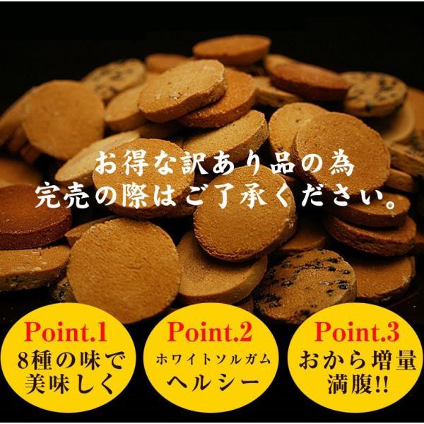 豆乳おからクッキー トリプル ZERO 1kg(おから パウダー クッキー 無糖 低カロリー 置換 ダイエット 食品 人気 セール)|tricycle|07