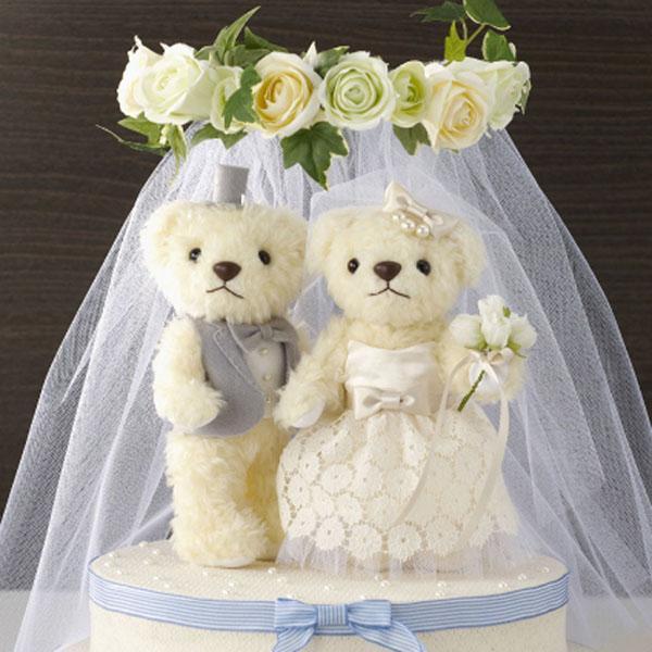 ウェディングベア(ウェルカムドール 人気 ウェディング ドール 結婚式)|tricycle
