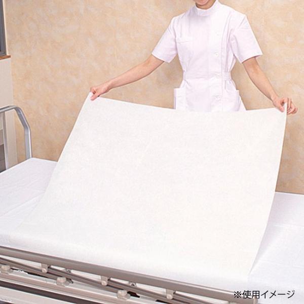 ニューフェルトンシーツ 滅菌済(使い捨て ベッド シーツ おねしょ 吸水 不織布 高齢者 障害者 介護 用品 ウイルス 対策 予防 グッズ)