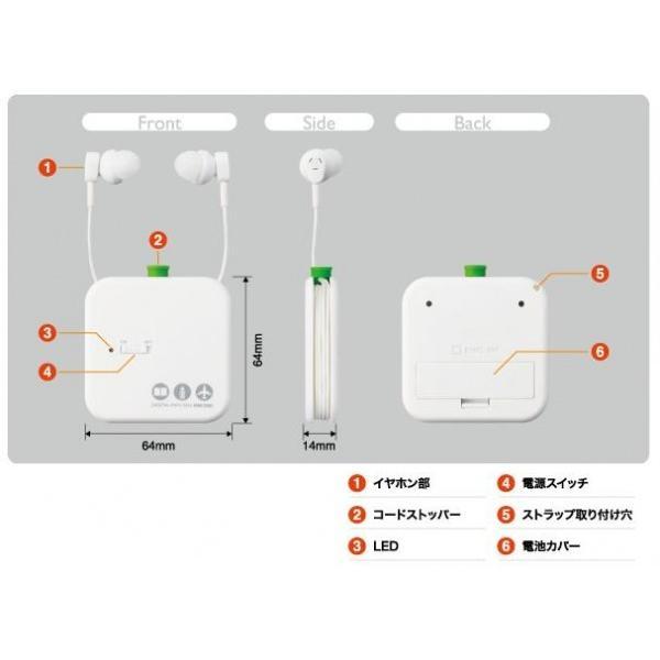 キングジム デジタル耳せん MM1000(耳栓 防音 高性能 イヤーウィスパー イヤーマフ 騒音)|tricycle|06