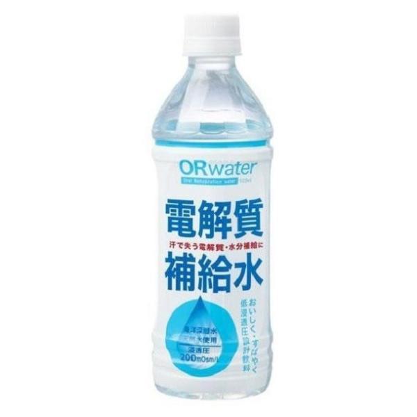 熱中症対策、喉がカラカラになってからでは遅い!電解質補給水。
