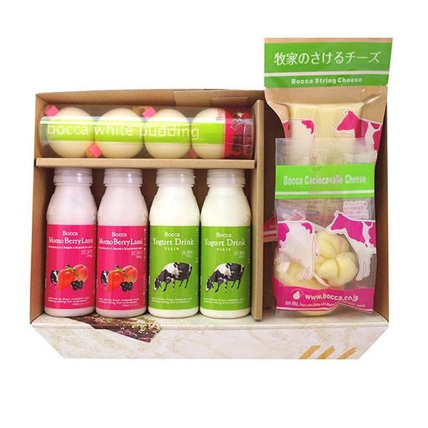北海道 牧家 NEW乳製品詰め合わせ1×2セット(白いプリン 飲むヨーグルト お中元 お歳暮 ギフト お取り寄せ)