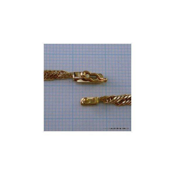 K18金 12面トリプル喜平アンクレット幅2.9mm23cm6g中折F05|trideacoltd|04