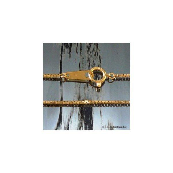 ベネチアンネックレス18金 幅1mm40cm3.7g レディース チェーンP1 trideacoltd 02