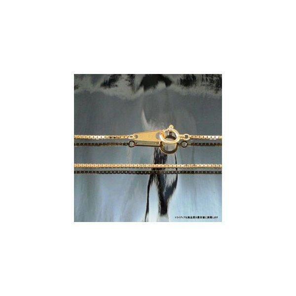 ベネチアンネックレス18金 幅1mm40cm3.7g レディース チェーンP1 trideacoltd 04