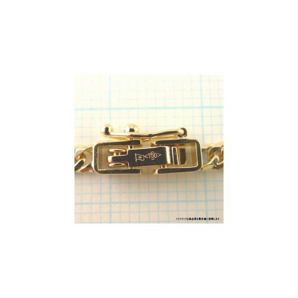 喜平ネックレス6面ダブル18金 幅2.7mm40cm10gレディース チェーン中折造幣局検定P|trideacoltd|02