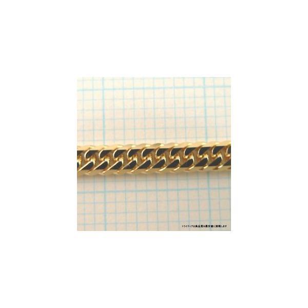 喜平ネックレス6面ダブル18金 幅2.7mm40cm10gレディース チェーン中折造幣局検定P|trideacoltd|06