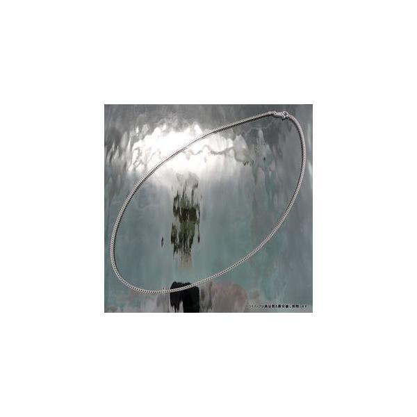 喜平 ネックレス 2面 プラチナ PT850 幅2.1mm50cm10gメンズ レディース チェーン引輪検定P06|trideacoltd|04
