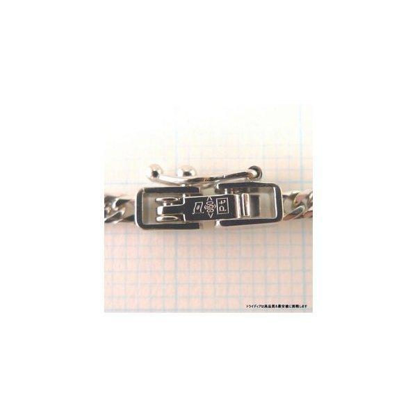 喜平 ネックレス 6面ダブル プラチナ PT850 幅2.3mm40cm10gレディース チェーン中折P|trideacoltd|03