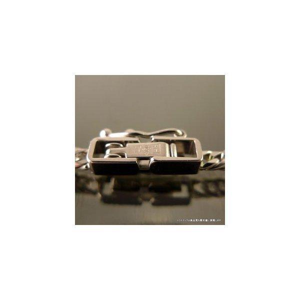 喜平 ネックレス 6面ダブル プラチナ PT850 幅2.3mm40cm10gレディース チェーン中折P|trideacoltd|04
