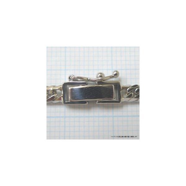 喜平 ネックレス 6面ダブル プラチナ PT850 幅3.5mm40cm20gレディース チェーン中折P08|trideacoltd|06